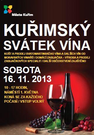 Svátek vína v Kuřimi 2013