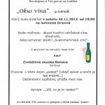 Okus vína na Lomnici v Orlovně