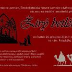 Živý betlém na Lomnici 2013
