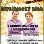 Myslivecký ples na Lomnici 2014