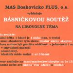 Básničková soutěž na libovolné téma na Tišnovsku