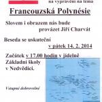 Francouzská Polynésie v Nedvědici