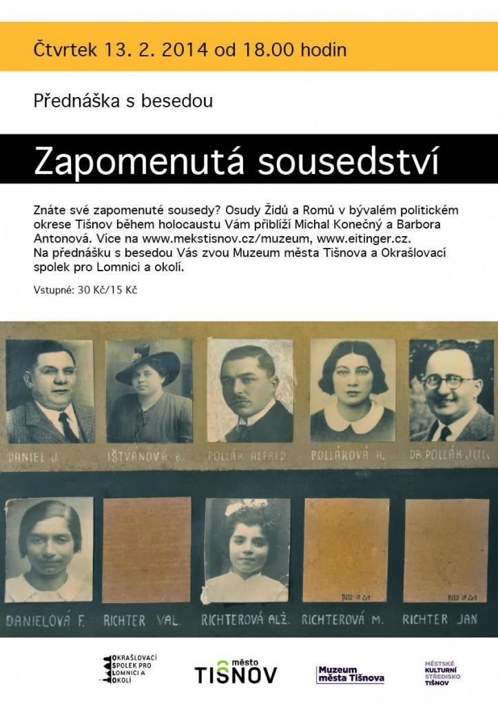 Zapomenutá sousedství v Tišnově