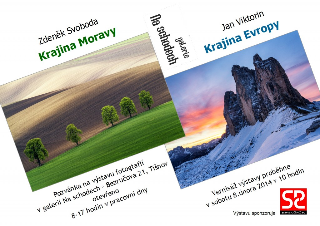 Krajina Moravy a Evropy - výstava