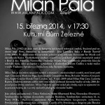 Houslista Milan Pala v Železném 2014