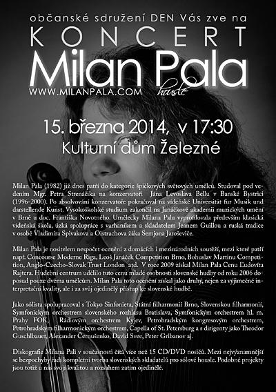 Milan Pala v Železném