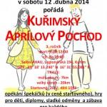 Kuřimský aprílový pochod 2014