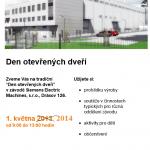 Den otevřených dveří v Siemensu Drásov 2014