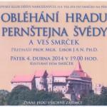 Obléhání hradu Pernštejna Švédy a ves Smrček