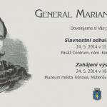 Slavnostní odhalení busty - generál Marian Langiewicz