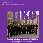Na závěr sezony Klubu přátel hudby 2014 zahraje Tišnovský komorní orchestr