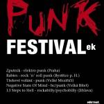 Punkový festival ve Velkém sále MěKS v Tišnově
