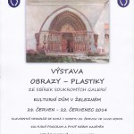 Výstava obrazů a plastik ze soukromých sbírek v Železném 2014
