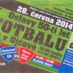 Oslavy 50-ti let fotbalu v Ujčově
