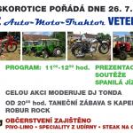 Auto-moto veteráni na Skoroticích 2014