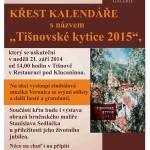 """Křest kalendáře s názvem """"Tišnovské kytice 2015"""" v Tišnově"""