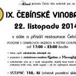 Deváté čebínské vinobraní