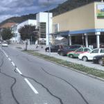 Kolony v ulici Nádražní v Tišnově